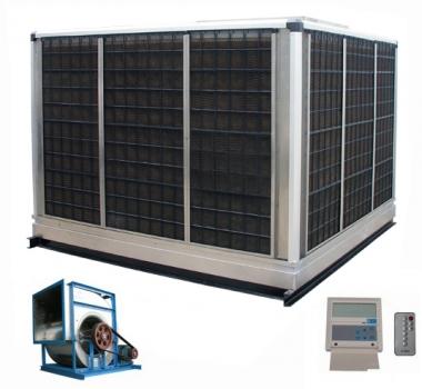 皮带连接式离心环保节能冷风机,九洲普惠环保空调