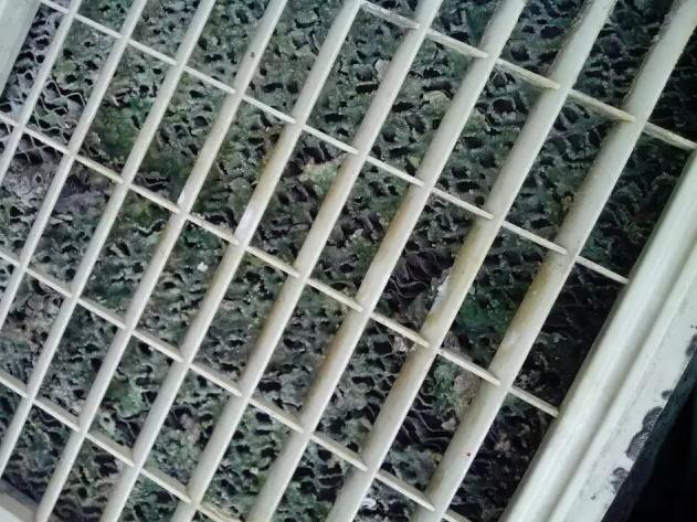 环保空调湿帘堵塞