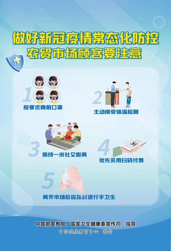 新冠肺炎疫情常态化防控系列海报6