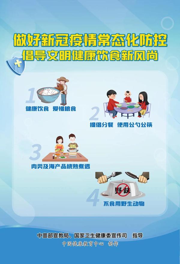 新冠肺炎疫情常态化防控系列海报4