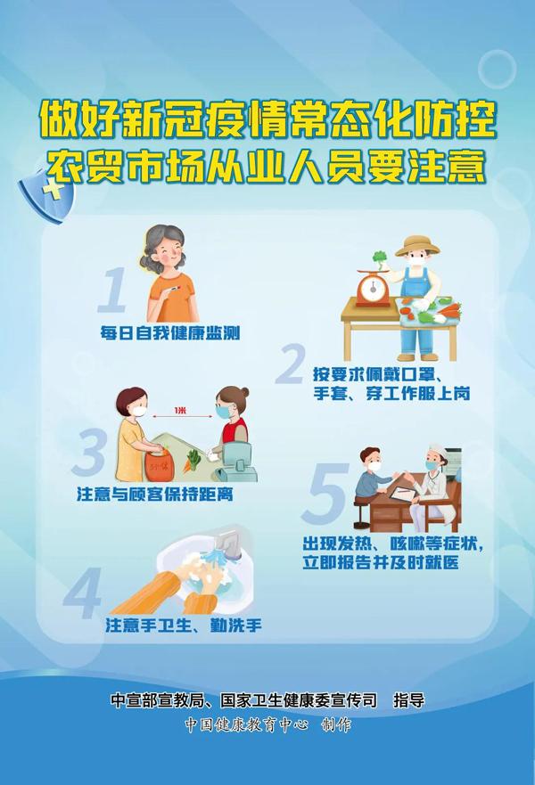 新冠肺炎疫情常态化防控系列海报5