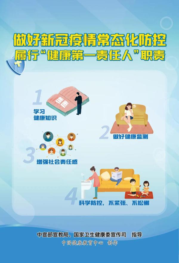 新冠肺炎疫情常态化防控系列海报3