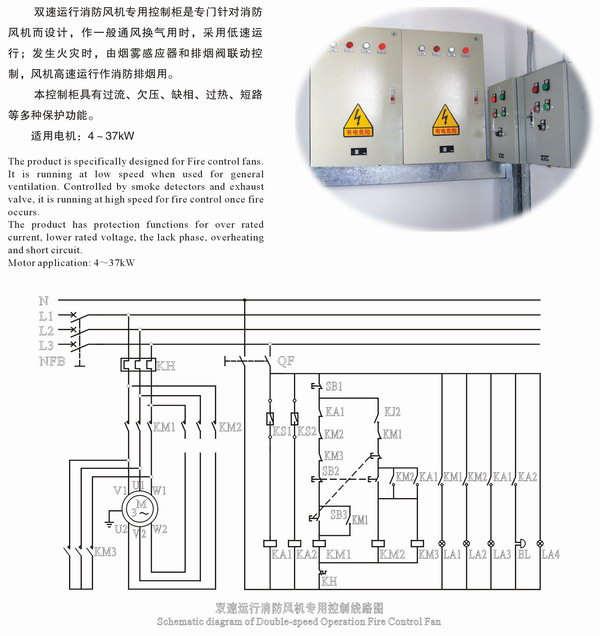 单、双速消防系列电控柜